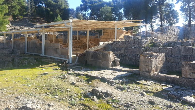 Agia Triada Archaeological site