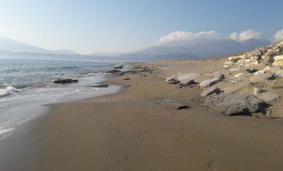 Afrathias natural beach