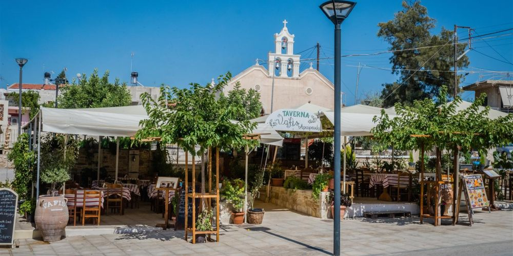 Sivas, taverns at the church