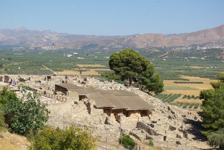Palace of Phaistos, Messara