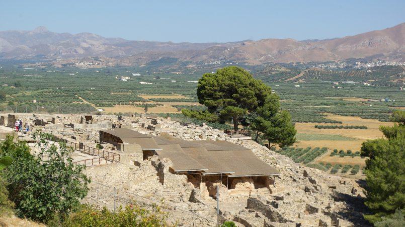 Palace of Phaistos, Messara