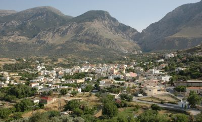 Zaros, a mountain village with traditions