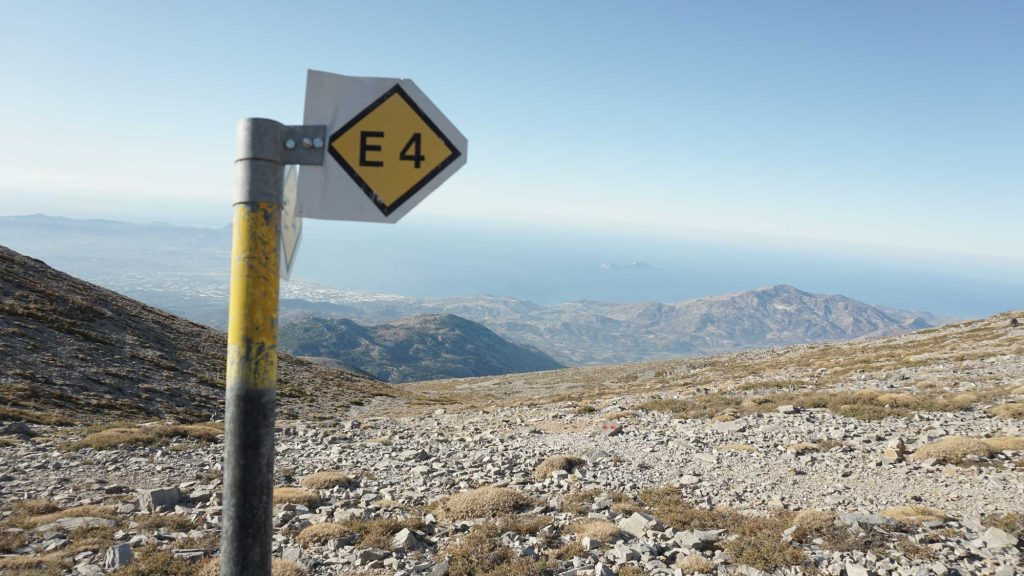E4 - European path, Psiloritis, Crete