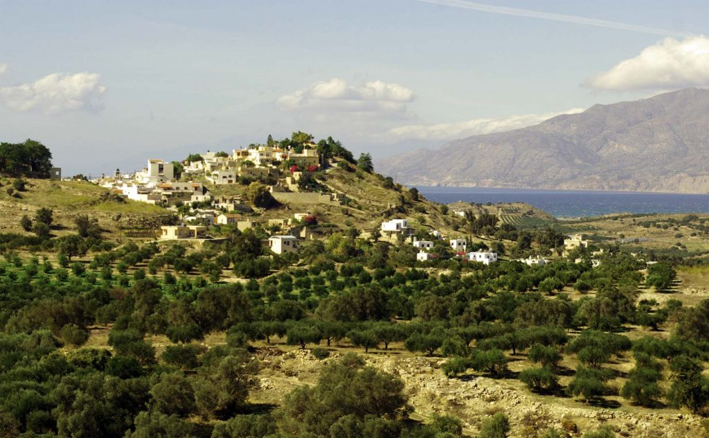 Village of the Messara, South Crete