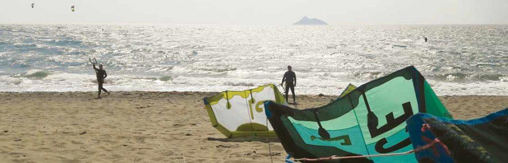 Kite surfer - South Crete
