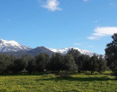 Wintertime in South Crete